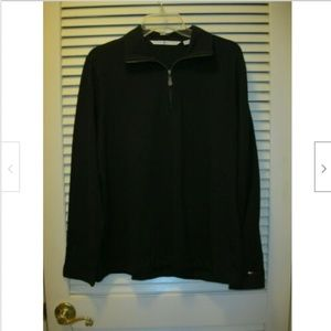 Tommy HIlfiger Zip Sweater Black XL